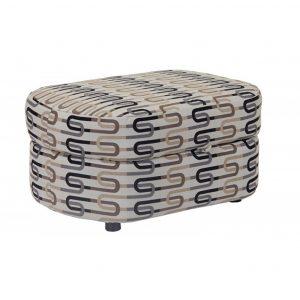 1207 ottoman, custom, custom order, made in canada, oval ottoman, canadian made, accent piece, accent furniture