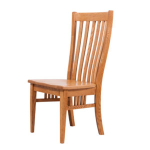 bedford dining chair, Dining room, dining room furniture, solid wood, solid oak, solid maple, custom, custom furniture, dining chair, made in Canada, Canadian made