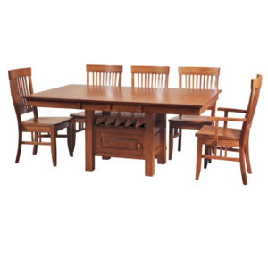cafe table, Dining room, dining room furniture, solid wood, solid oak, solid maple, custom, custom furniture, dining table, dining chair, made in Canada, Canadian made