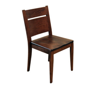 capri dining chair, Dining room, dining room furniture, solid wood, solid oak, solid maple, custom, custom furniture, dining chair, made in Canada, Canadian made