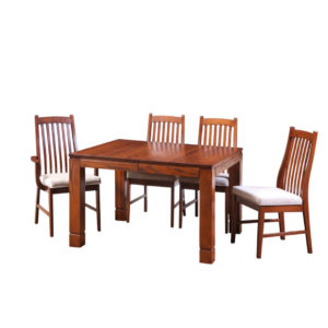 manhattan table, Dining room, dining room furniture, solid wood, solid oak, solid maple, custom, custom furniture, dining table, dining chair, made in Canada, Canadian made