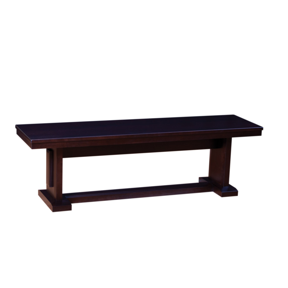 Dining room, dining room furniture, solid wood, solid oak, solid maple, custom, custom furniture, dining bench, made in Canada, Canadian made
