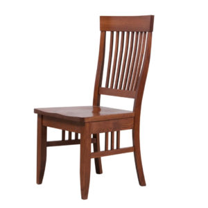 shaker dining chair, Dining room, dining room furniture, solid wood, solid oak, solid maple, custom, custom furniture, dining chair, made in Canada, Canadian made