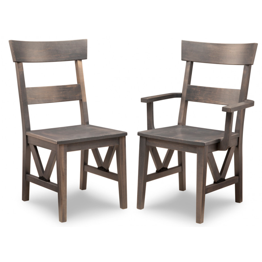 chattanooga dining chair, Dining room, dining room furniture, solid wood, solid oak, solid maple, custom, custom furniture, storage, storage ideas, dining chair, made in canada, Canadian made, solid cherry, cherry, maple, oak, heritage maple