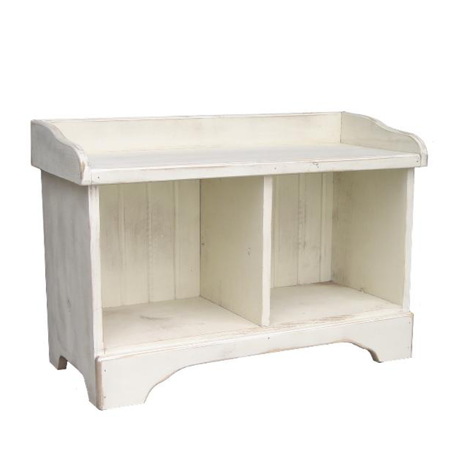 cubby bench 2, entry bench, storage, storage ideas, entry, foyer, organize, organization, small space, multipurpose, pine, solid pine, solid wood, made in canada, canadian made, rustic, rustic design,