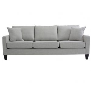 monroe sofa, upholstered, sofa, loveseat, chair, made in canada, canadian made, upholstery, custom, custom furniture, living room furniture, custom order, choose your fabric