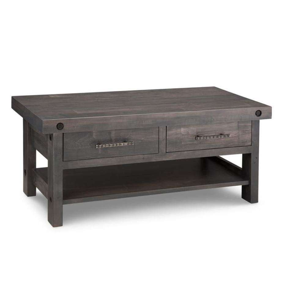 rafters coffee table, living room, living room furniture, occasional, occasional furniutre, heritage maple, maple, oak, solid wood, cherry, solid maple, solid oak, solid cherry, buxton cherry, made in canada, canadian made, custom, custom furniture, coffee table, stprage, storage ideas, custom options,, rustic