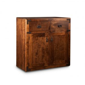 saratoga 2 door sideboard, Dining room, dining room furniture, occasional, occasional furniture, solid wood, solid oak, solid maple, custom, custom furniture, storage, storage ideas, dining cabinet, sideboard, made in canada, Canadian made, solid cherry, cherry, maple, oak, heritage maple