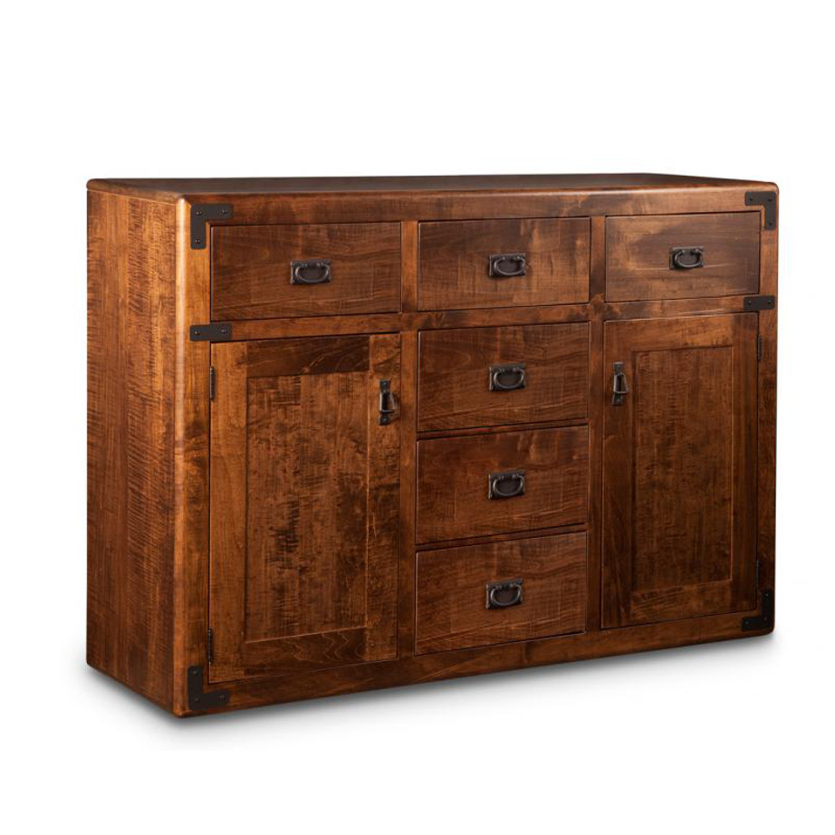 Saratoga sideboard, Dining room, dining room furniture, occasional, occasional furniture, solid wood, solid oak, solid maple, custom, custom furniture, storage, storage ideas, dining cabinet, sideboard, made in canada, Canadian made, solid cherry, cherry, maple, oak, heritage maple