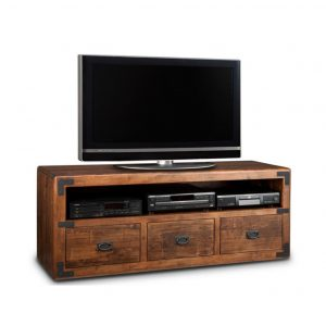 saratoga 60 tv console, living room, living room furniture, console, tv console, tv, hdtv, storage, storage ideas, solid wood, made in Canada, Canadian made, maple, oak, cherry, solid maple, heritage maple, solid oak, solid cherry, rustic, rustic design, drawer, drawers, shelves, storage solutions, custom, custom furniture, entertainment