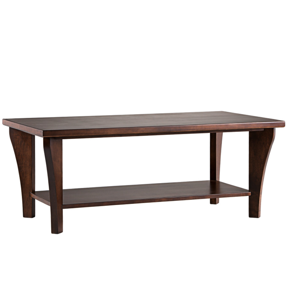 Canterbury Coffee table,coffee table, solid wood, made in canada, wooden coffee table