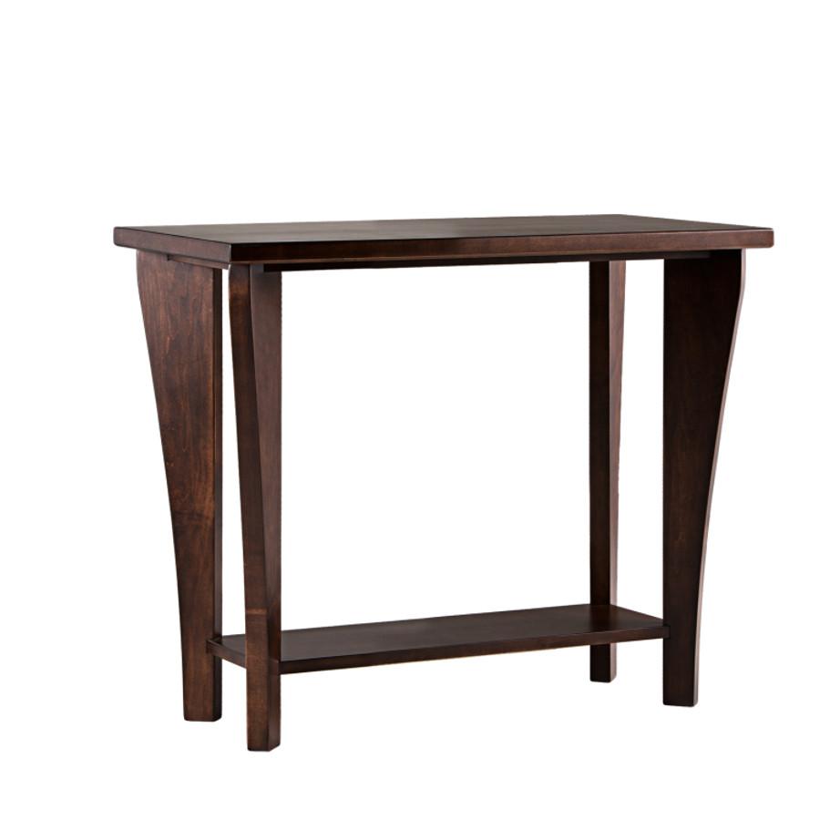 Canterbury Sofa table, sofa table, canterbury, tapered legs table
