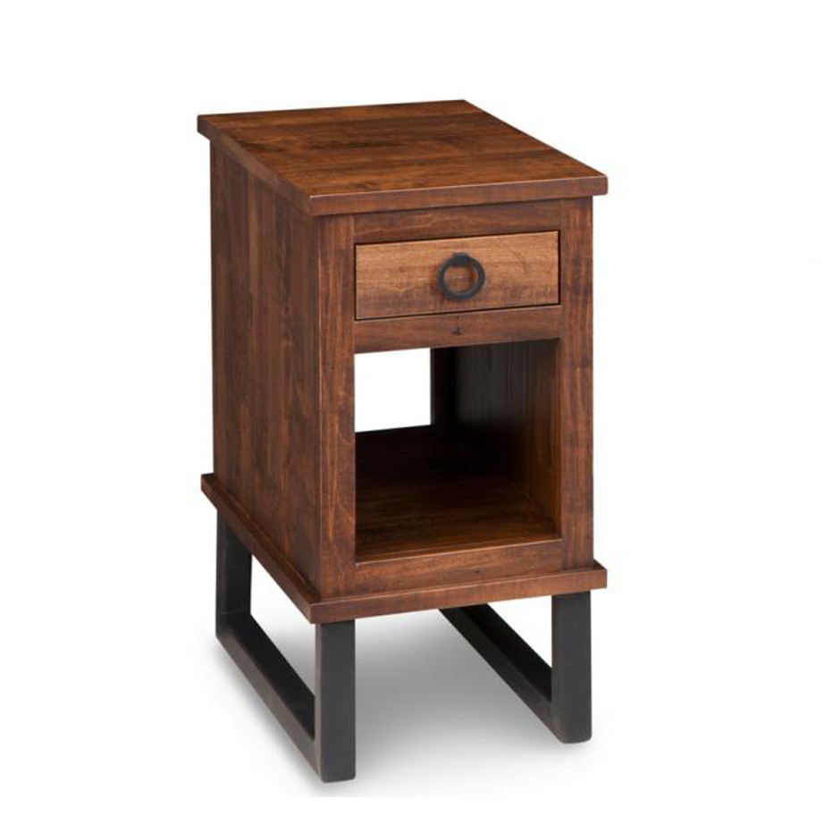 cumberland end table, Living Room, Occasional, End Table, Accents, Accent Furniture, made in canada, maple, oak, rustic, side table, solid wood, living room ideas, simple, unique, custom, custom furniture, cumberland