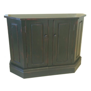 Dorian Console, furniture, pine, storage ideas, storage, solid wood, made in Canada, Canadian made, rustic, rustic look, shelves, paint, dining room, display, shelf, stain, cabinet, cupboard, console