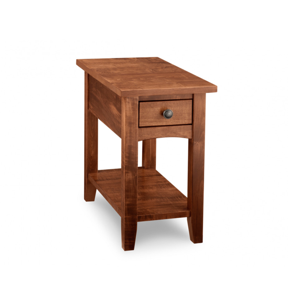 Living Room, Occasional, End Table, Accents, Accent Furniture, made in canada, maple, oak, rustic, side table, solid wood, living room ideas, simple, unique, custom, custom furniture, glen garry