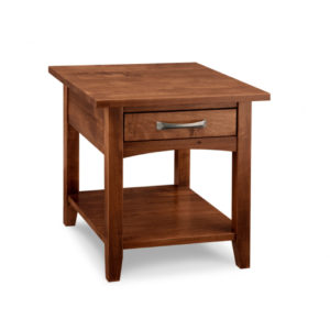 glen garry end table, Living Room, Occasional, End Table, Accents, Accent Furniture, made in canada, maple, oak, rustic, side table, solid wood, living room ideas, simple, unique, custom, custom furniture, glen garry