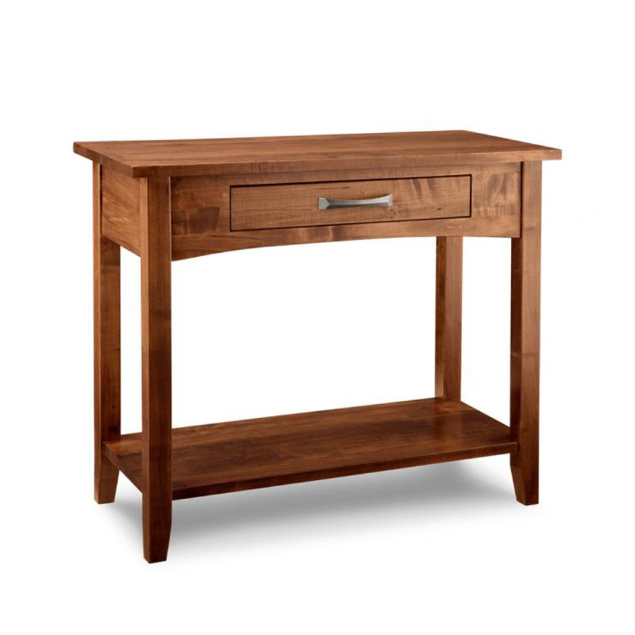 glen garry sofa table, Living Room, Occasional, End Table, Accents, Accent Furniture, made in canada, maple, oak, rustic, side table, solid wood, living room ideas, simple, unique, sofa table, custom, custom furniture, glen garry