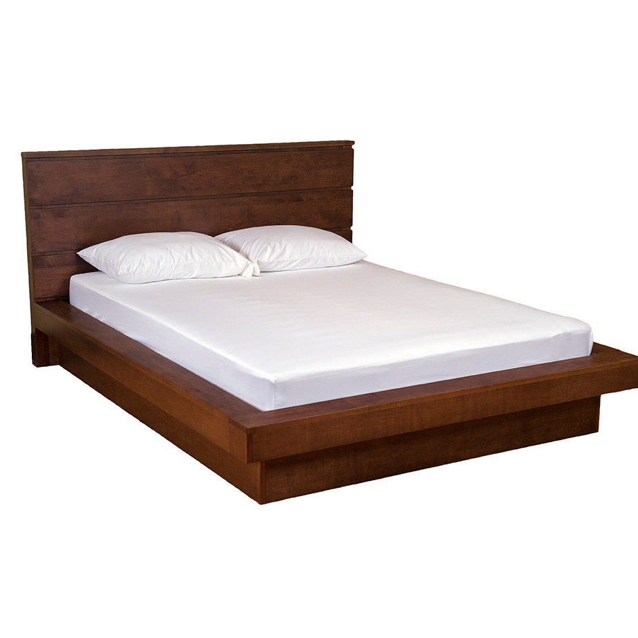 Granville Platform Bed, with Wrap Around, bedroom, bedroom furniture, occasional, occasional furniture, solid wood, solid oak, solid maple, custom, custom furniture, bed