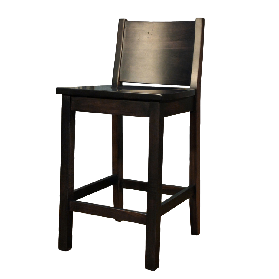 meta rustic stool, Dining room, solid wood, maple, rustic maple, made in Canada, stool, custom, custom furniture, counter stool, bar stool, meta
