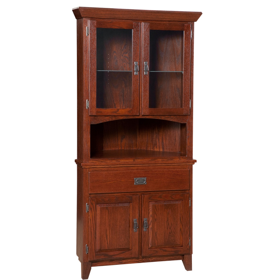 Mission Corner Cabinet, Dining room, dining room furniture, occasional, occasional furniture, solid wood, solid oak, solid maple, custom, custom furniture, storage, storage ideas, dining cabinet, sideboard, hutch