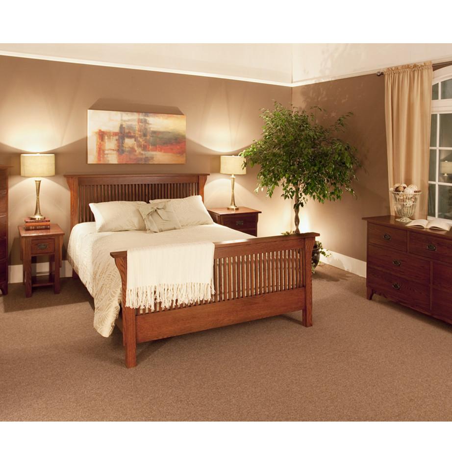 Heirloom Mission Bed - Fanny's Furniture Kelowna, BC