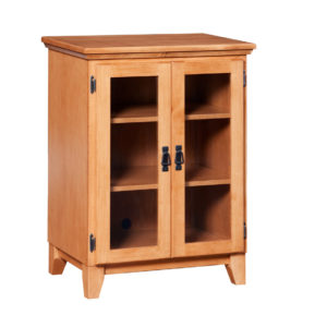 Mission low media stand, media stand, Traditional media stand, media stand with storage, media stand with glass door