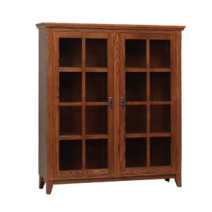Mission Office Bookcase A, Solid wood, maple, oak, organize, organization, organizer, custom, furniture, custom furniture, solid maple, solid oak, office, home office, office furniture, storage, storage ideas, shelf, shelving, bookshelf, bookcase, display, library, home library