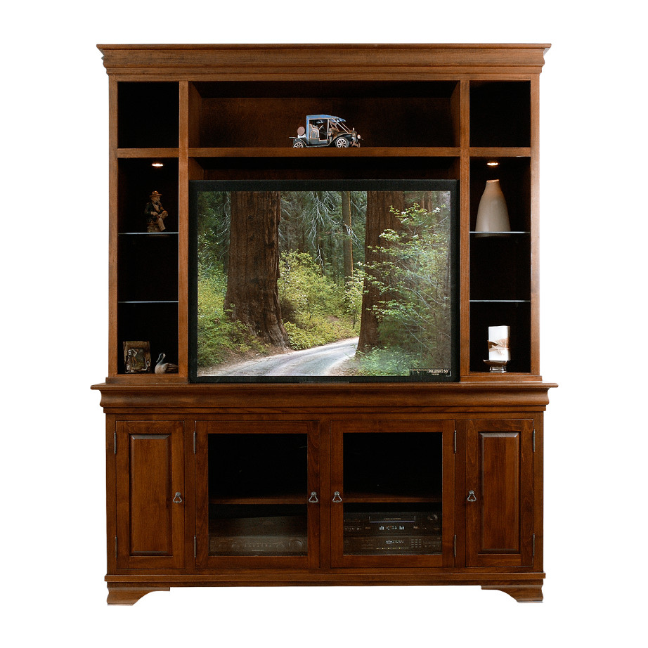 Morgan 73 wall unit, wall unit, wall unit with storage TV unit, solid wood , made in canada, choose your wood, solid wood furniture, display wall unit