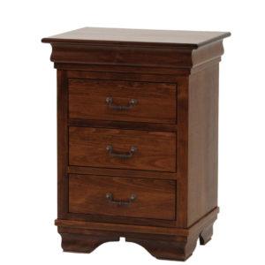 Morgan Night Stand, bedroom, bedroom furniture, occasional, occasional furniture, solid wood, solid oak, solid maple, custom, custom furniture, storage, storage ideas, nightstand