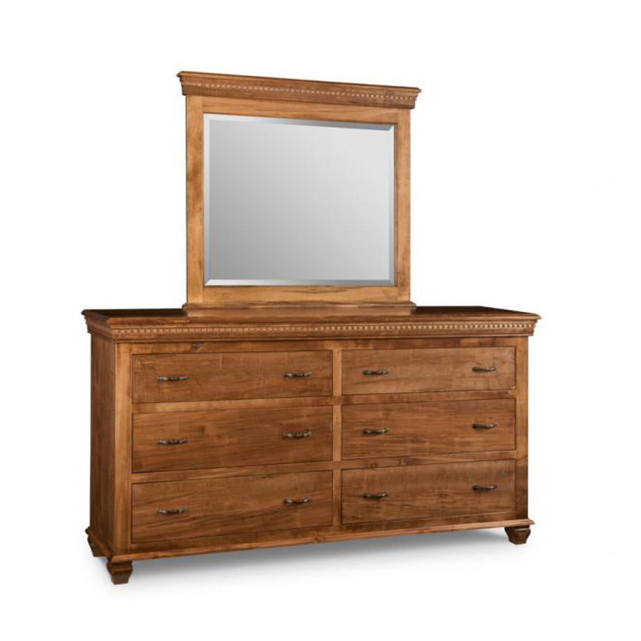 Bedroom, Dressers, cabinet, cherry, contemporary, custom chest, distressed, drawers, made in canada, made to order, maple, master bedroom, modern, oak, solid wood, handstone, modern, rustic, straight lines, blocky, unique, modern, blocky, amish style furniture, contemporary, handmade, rustic, distressed, simple, customizable, Solid Rustic Maple, Provence 6 Dr Dresser, Provence