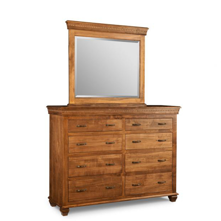provence dresser, Bedroom, Dressers, cabinet, cherry, contemporary, custom chest, distressed, drawers, made in canada, made to order, maple, master bedroom, modern, oak, solid wood, handstone, modern, rustic, straight lines, blocky, unique, modern, blocky, amish style furniture, contemporary, handmade, rustic, distressed, simple, customizable, Solid Rustic Maple, Provence 8 Dr Dresser, Provence