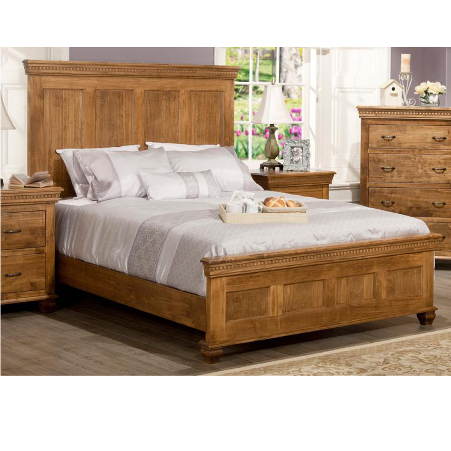 Beds, cherry, distressed, made in canada, maple, master bedroom, oak, rustic, solid wood, classic, simple, unique, contemporary, bedroom ideas, other sizes, hand stone, Provence Bedroom