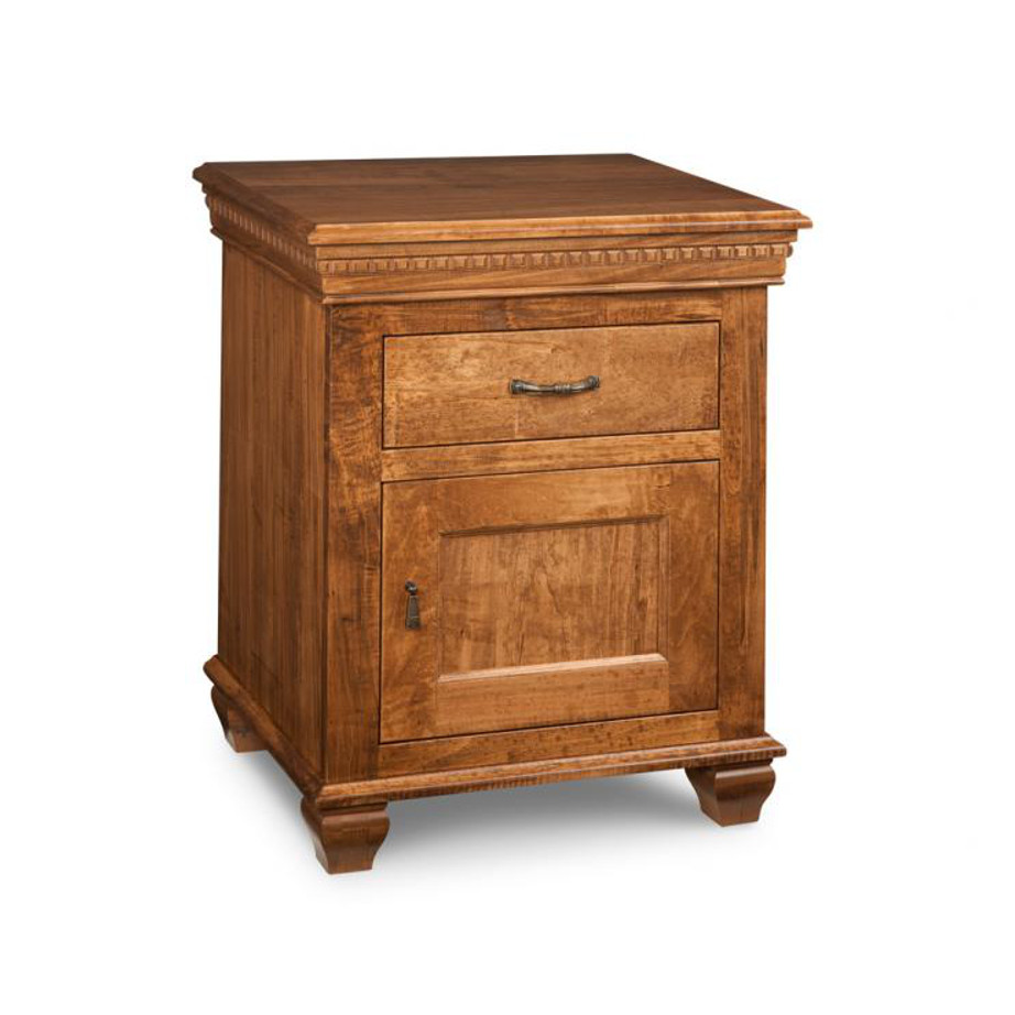Provence Night Stand, Bedroom, Night Stands, cabinet, cherry, contemporary, custom chest, distressed, drawers, made in canada, made to order, maple, master bedroom, modern, oak, solid wood, handstone, modern, rustic, handmade, kitchen ideas, straight lines, blocky, unique, modern, blocky, straight lines