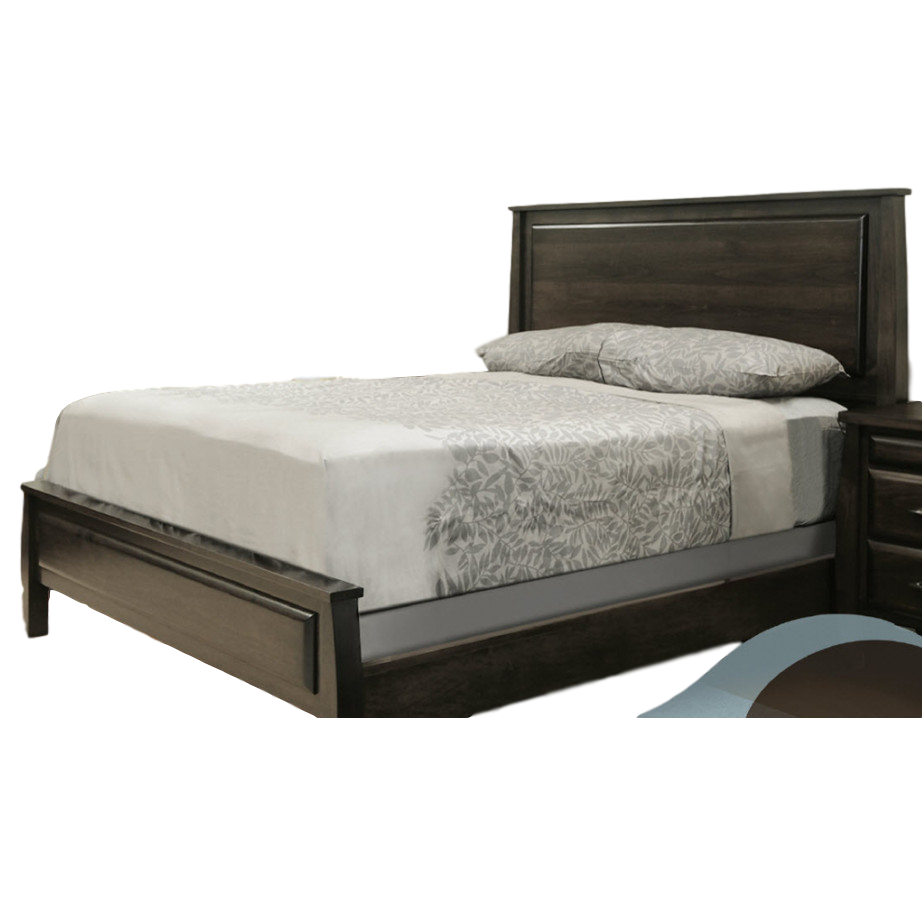 Bedroom, Beds, contemporary, made in canada, maple, master bedroom, modern, oak, platform, rustic, solid wood, storage, purba, bedroom ideas, round, 2 sizes of footboard, unique, modern, Seymour bed,
