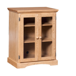 Shaker low media stand, media stand, Traditional media stand, media stand with storage, media stand with glass door