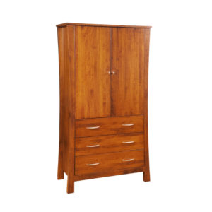 Soho Armoire, bedroom, bedroom furniture, occasional, occasional furniture, solid wood, solid oak, solid maple, custom, custom furniture, storage, storage ideas, armoire, made in Canada, Canadian made