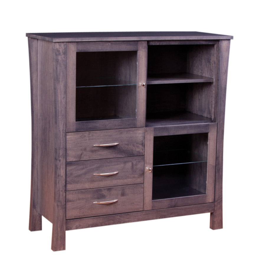 Soho Great Room Cabinet, Dining room, dining room furniture, occasional, occasional furniture, solid wood, solid oak, solid maple, custom, custom furniture, storage, storage ideas, dining cabinet, cabinet, great room cabinet