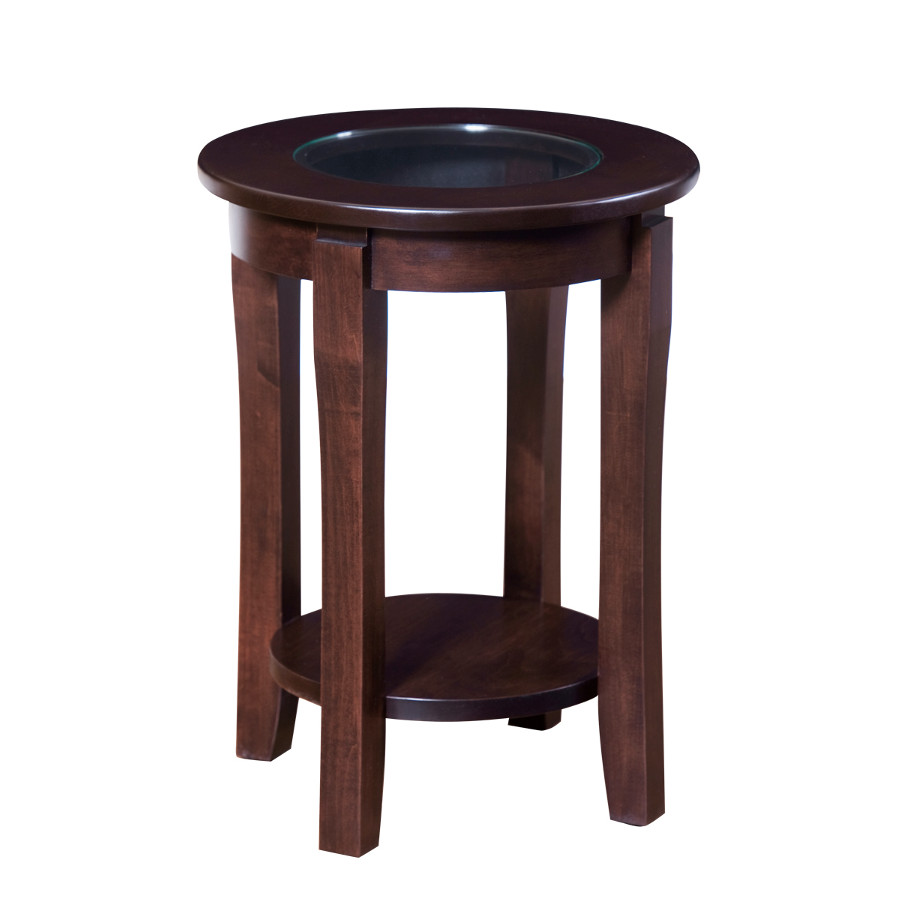 Soho End Table With Glass Top Fanny S Furniture Kelowna Bc
