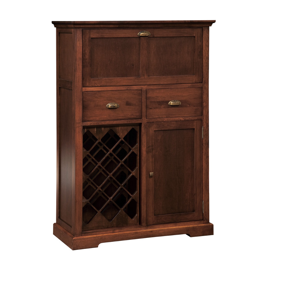 , Dining room, dining room furniture, occasional, occasional furniture, solid wood, solid oak, solid maple, custom, custom furniture, storage, storage ideas, dining cabinet, sideboard, wine, wine cabinet, stanford small bar cabinet
