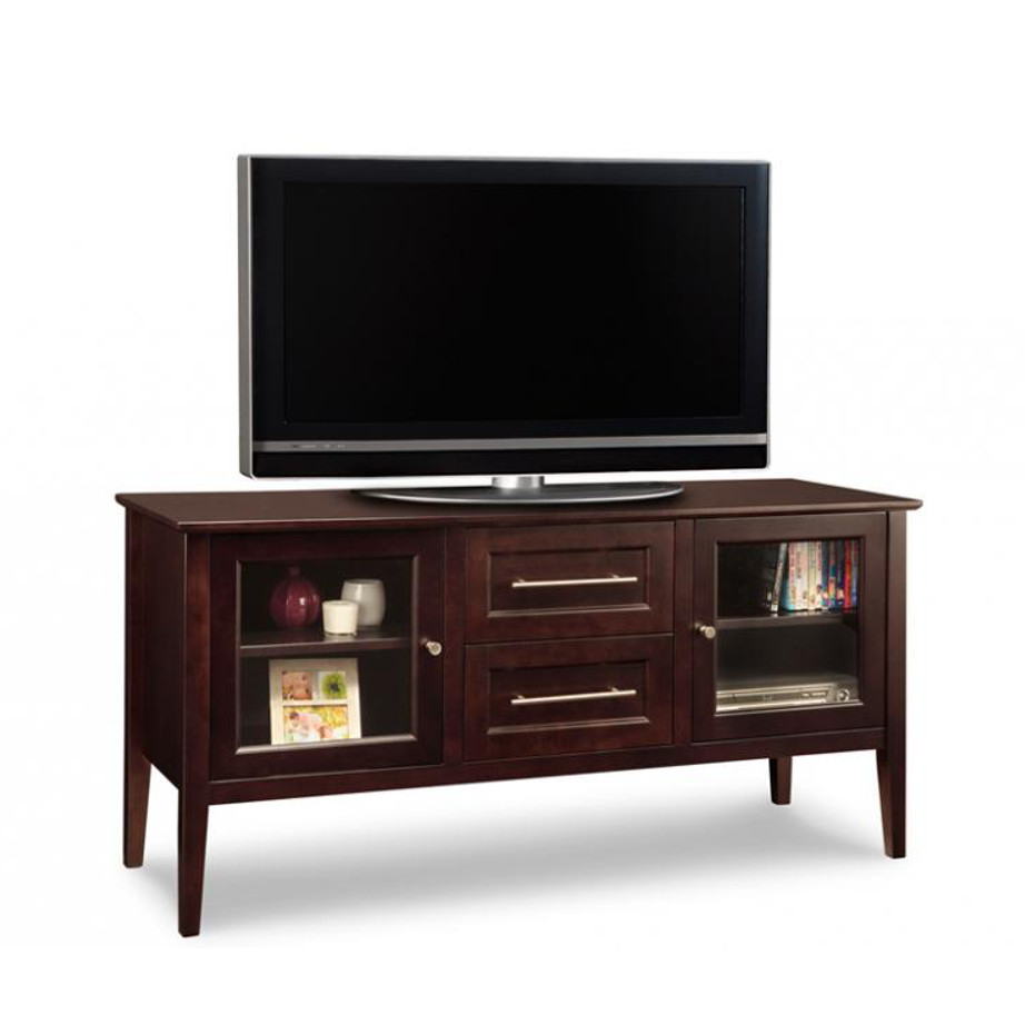 stockholm 60 tv console, Entertainment, TV Consoles, contemporary, custom cabinet, HDTV, made in canada, maple, modern, oak, rustic, solid wood, tv, other Sizes Available, Glass, Simple, Living Room, Studio TV Console, storage ideas, custom, stockholm
