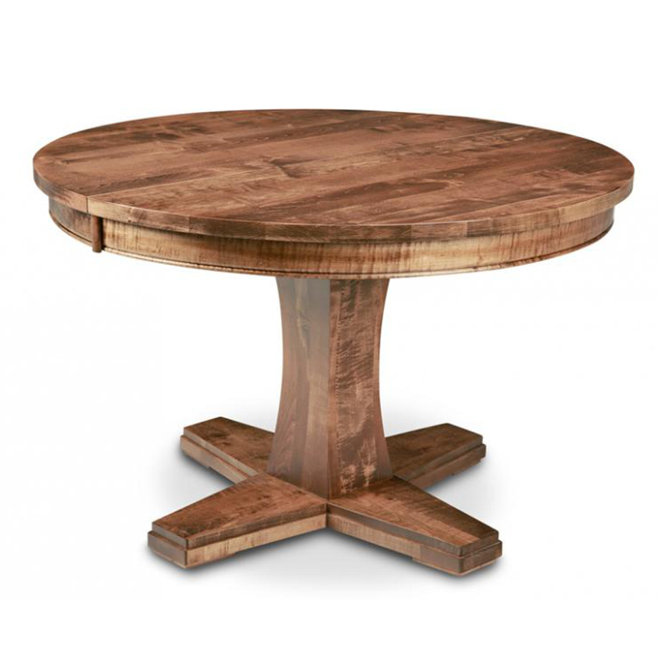 stockholm dining, dining furniture, Style furniture, modern design furniture, dining furniture, dining table, stockholm, handmade to order , customizable, made in Canada, distressed finish, stockholm chairs, dining chairs, , craftsman furniture, amish style furniture, contemporary, handmade, rustic, distressed, simple, customizable, Solid Rustic Maple, round table