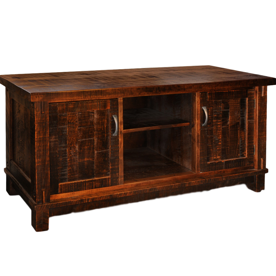 Entertainment, TV Consoles, contemporary, custom cabinet, distressed, drawers, glass doors, industrial, made in canada, maple, modern, ruff sawn, rustic, solid wood, living room ideas, amish style furniture, contemporary, storage ideas, unique, Timber TV Console