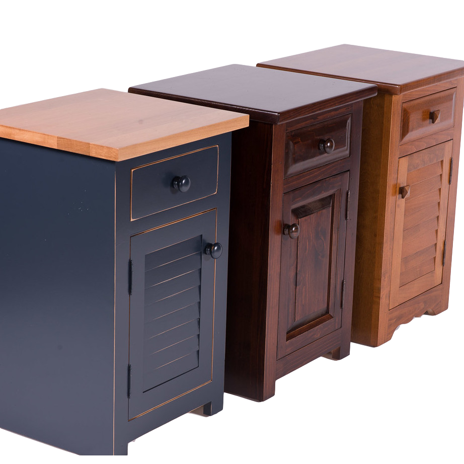 True North Night Stand, True North, Bedroom, Night Stands, colour, contemporary, country, custom cabinet, distressed, farmhouse, made in canada, master bedroom, modern, painted, solid wood, storage, white, rustic, simple, unique, True North Night Stand - Various Styles