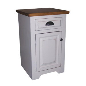 True North Night Stand - White, True North, Bedroom, Night Stands, colour, contemporary, country, custom cabinet, distressed, farmhouse, made in canada, master bedroom, modern, painted, solid wood, storage, white, rustic, simple, unique, Various Styles