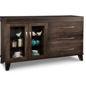 Verona display sideboard ,verona ,display sideboard, handmade to order , Heritage maple, tapered leg furniture, cupboards and sideboards, glass door option , Storage cabinets, custom cabinets, dining room, kitchen , furniture, modern , maple, oak, solid wood furniture, furniture, home furnishings,