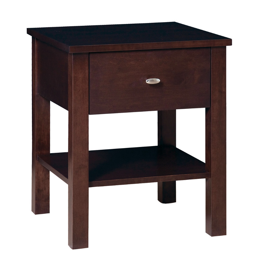 Yaletown End Table, living room, living room furniture, occasional, occasional furniture, solid wood, solid oak, solid maple, custom, custom furniture, storage, storage ideas, end table