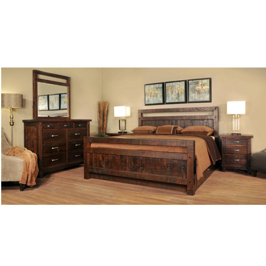 Timber Bedroom Suite, solid wood bedroom suite, ruff sawn bedroom suite