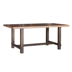 Cruz Reclaimed Table, solid wood, rustic wood, dining table, metal legs, steel legs, urban, modern, rustic, industrial