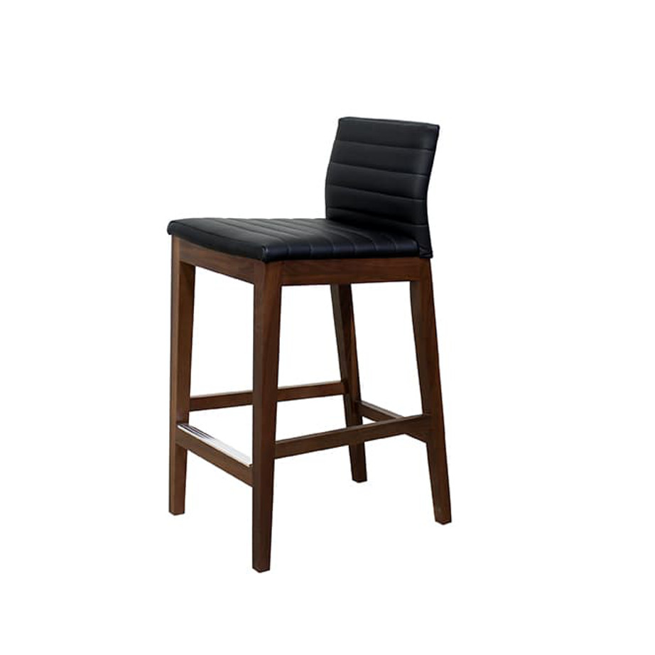 Dining Room, Bar Stools, bar, birch, contemporary, counter, custom chair, dining, fabric, island, made in canada, modern, parsons, solid wood, walnut, Counter, bar, Simple Modern Design, dining room ideas, Simple, Modern, Max Stool