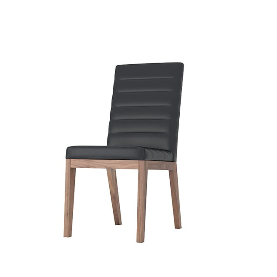 Dining Room, Chairs, birch, contemporary, custom chair, dining, fabric, made in canada, modern, parsons, solid wood, verbois, walnut, simple, dining room ideas, fabric, simple, Moto Dining Chair